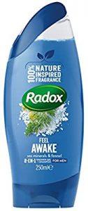 Radox For Men 2 In 1 Feel Awake Shower Gel 250Ml