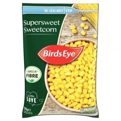 Birds Eye Field Fresh Supersweet Sweetcorn