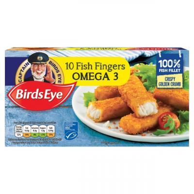 Birds Eye 10 Omega 3 Fish Fingers