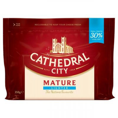 Cathedral City Lighter Cheese 350g
