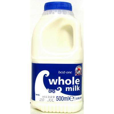 Fresh Milk Whole 1 Pint