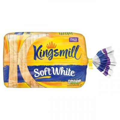 Kingsmill Soft White Bread Thick 800g