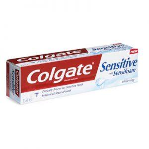 Colgate Sensitive Sensifoam White Toothpaste 75Ml