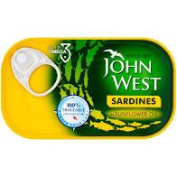 John West Sardines Sunflower Oil 120G