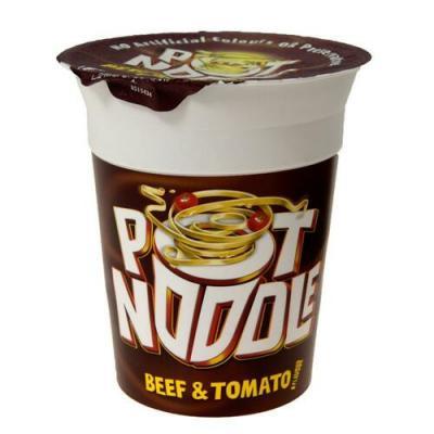 Pot Noodle Beef & Tomato