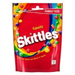 Skittles Fruits Sweets Family Size Pouch Bag