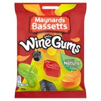 Maynards Bassetts Wine Gums Sweets Bag