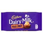 Cadbury Dairy Milk Whole Nut Chocolate Bar 200g